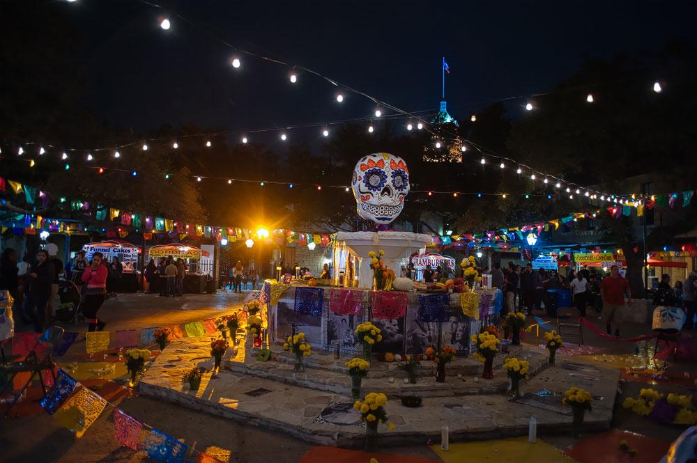 7th Annual D 237 A De Los Muertos Festival At Hemisfair Free